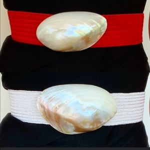 Vintage shell belts